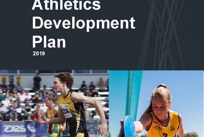 Athletics Development Plan Cover