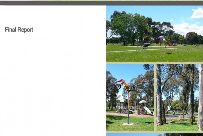 Ross Reserve Master Plan Cover