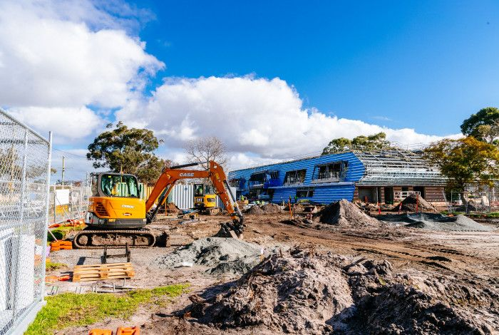 Works on Springvale Hub Site