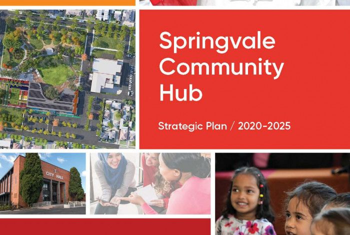 Springvale Community Hub Strategic Plan Cover