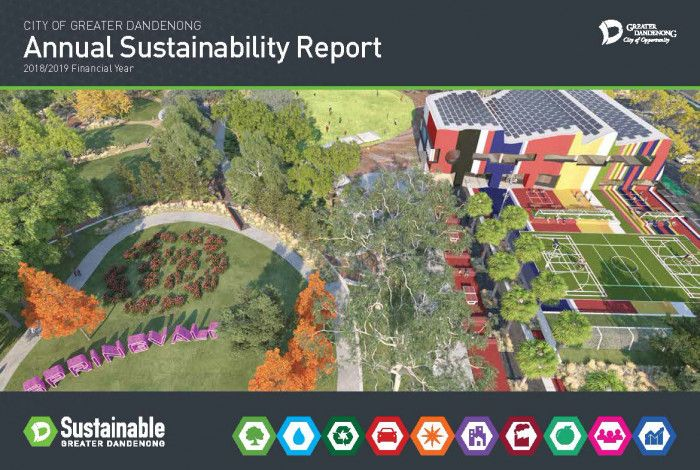 2018-19 Annual Sustainability Report Cover