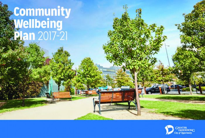 Community Wellbeing Plan Cover