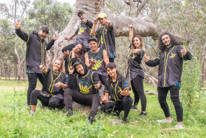 Indigenous Outreach Projects Hip Hop Dancers Posing for Photo