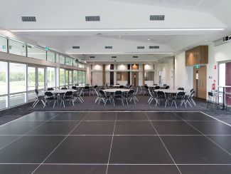 Tatterson Pavilion - Main function room with dance floor