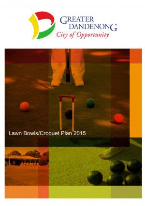 Lawn Bowls and Croquet Plan Cover